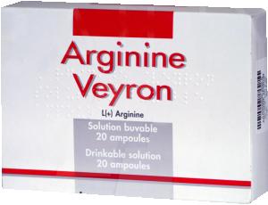 Arginine veyron, solution buvable en ampoule
