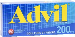 Advil 200 mg, comprimé enrobé