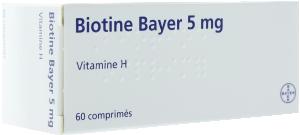 Biotine bayer 5 mg, comprimé