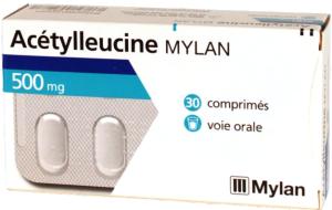 Acetylleucine mylan 500 mg, comprimé