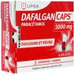 Dafalgan Caps 1000mg Douleurs et fièvres