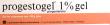 Progestogel 1%, gel pour application locale