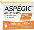 Aspegic nourrissons 100 mg, poudre pour solution buvable en sachet-dose