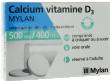 Calcium vitamine d3 mylan 500 mg/400 ui, comprimé à sucer ou à croquer