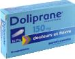 Doliprane 150 mg, suppositoire