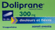 Doliprane 300 mg, suppositoire