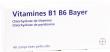 Vitamine b1 b6 bayer, comprimé pelliculé